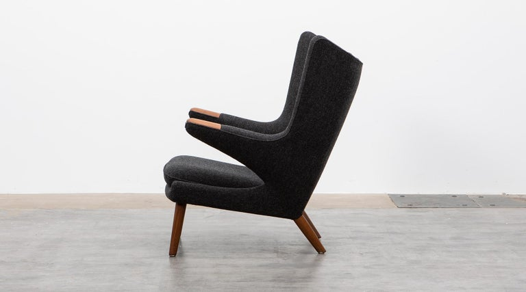 Mid-Century Modern 1950s Papa Bear Chair by Hans Wegner 'g' For Sale