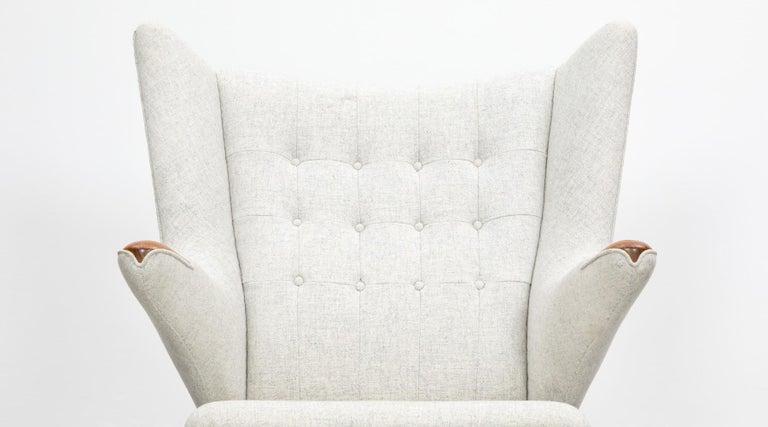 1950s Papa Bear Chair by Hans Wegner 'k' For Sale 3