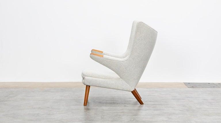 Mid-Century Modern 1950s Papa Bear Chair by Hans Wegner 'k' For Sale
