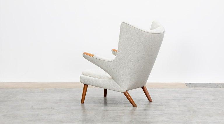 Danish 1950s Papa Bear Chair by Hans Wegner 'k' For Sale