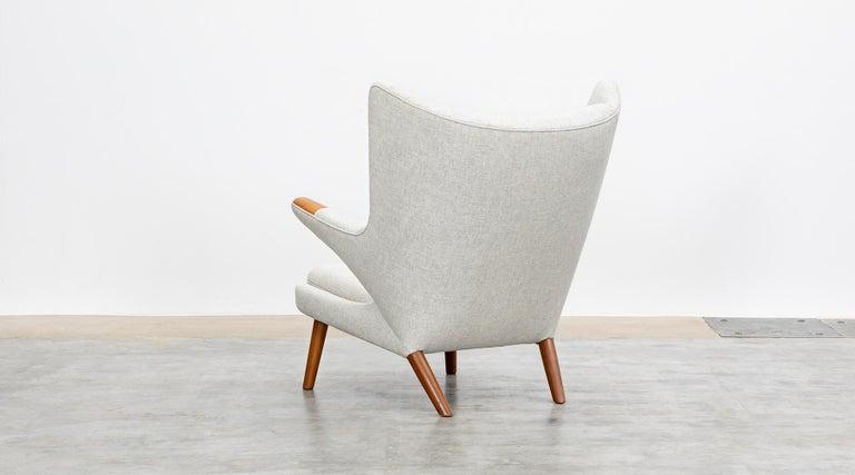 1950s Papa Bear Chair by Hans Wegner 'k' In Good Condition For Sale In Frankfurt, Hessen, DE