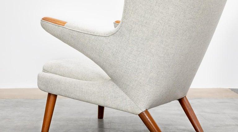 1950s Papa Bear Chair by Hans Wegner 'k' For Sale 2
