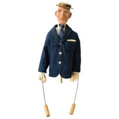 1950s Paper Mache Puppet