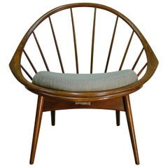 1950s Peacock Lounge Chair by Ib Kofod-Larsen for Selig Denmark