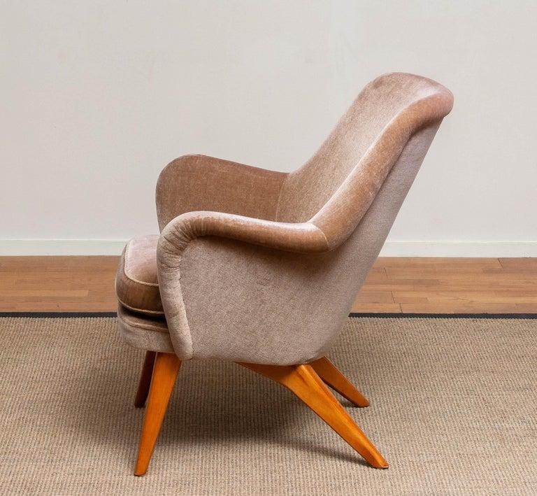 1950s Pedro Chair by Carl Gustav Hiort af Ornäs for Puunveisto Oy-Trasnideri 5