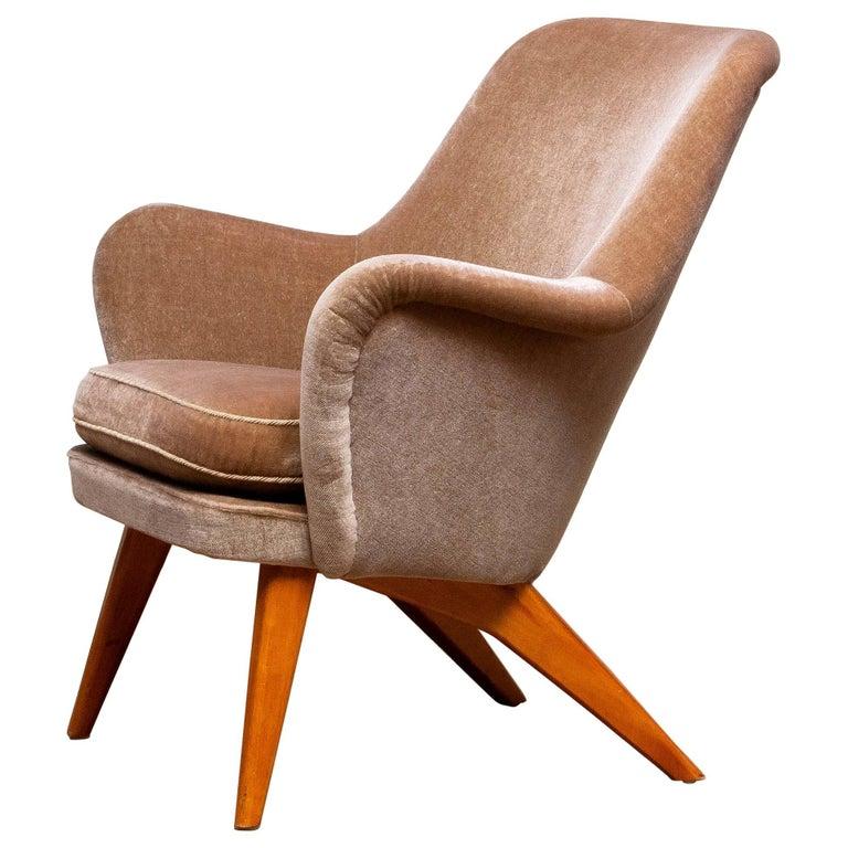 1950s Pedro Chair by Carl Gustav Hiort af Ornäs for Puunveisto Oy-Trasnideri In Good Condition In Silvolde, Gelderland
