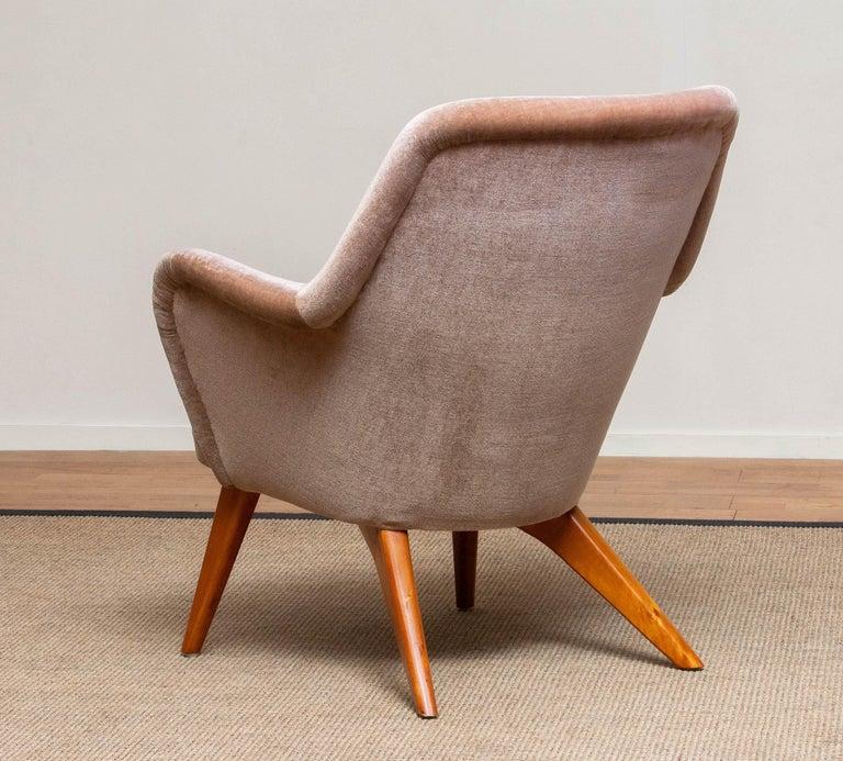 Mid-20th Century 1950s Pedro Chair by Carl Gustav Hiort af Ornäs for Puunveisto Oy-Trasnideri