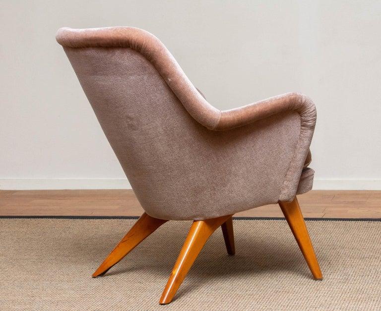 1950s Pedro Chair by Carl Gustav Hiort af Ornäs for Puunveisto Oy-Trasnideri 1