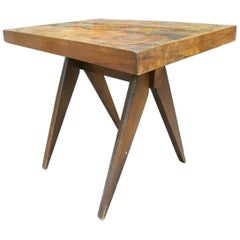 1950s Perriand/Jeanneret Style End Table