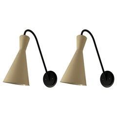 1950s Pierre Guariche Sconces 'pair'