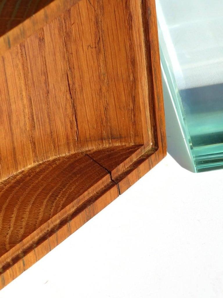 1950s Pietro Chiesa by Fontana Arte Italian Design Crystal Box In Excellent Condition For Sale In Brescia, IT