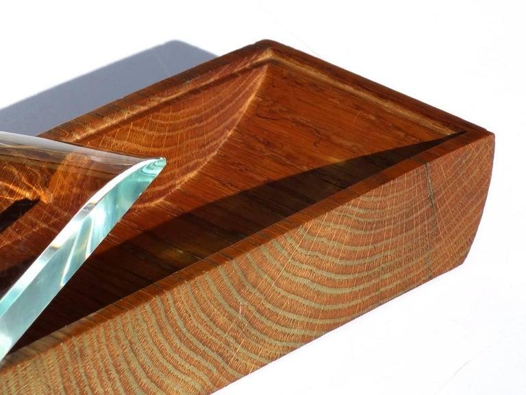 1950s Pietro Chiesa by Fontana Arte Italian Design Crystal Box For Sale 1