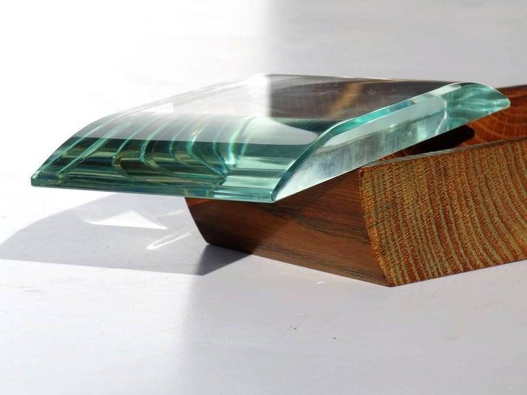 1950s Pietro Chiesa by Fontana Arte Italian Design Crystal Box For Sale 2