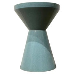 1950's Rare Architectural Double Cone Planter by Bauer Pottery