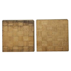 1950s Removable Oak Parquet Interlocking Oak Dance Floor Tiles