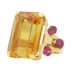 Gold Cluster Rings
