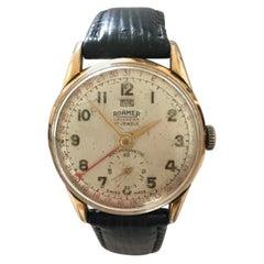 1950's Roamer Calendar Mechanical Watch