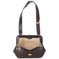 1950s Roberta di Camerino Brown Leather Bag