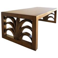 1950s Robsjohn-Gibbings Widdicomb Palm Coffee Table