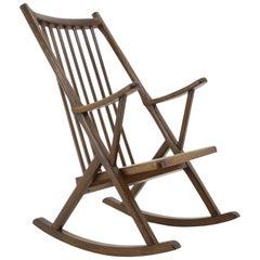 1950s Rocking Chair, Denmark
