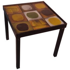 "1950s Roger Capron Side Table ""Planètes"" Model"