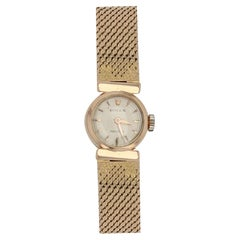1950s Rolex 18 Karat Yellow Gold Ladies Wristwatch