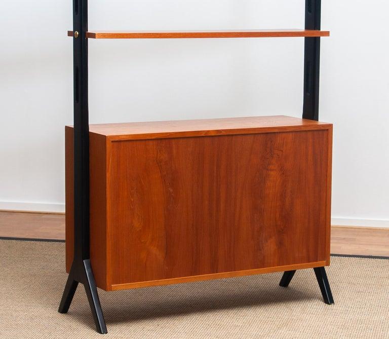 1950s, Scandinavian Shelf's / Bookcase / Room Divider in Teak, Made in Sweden 4