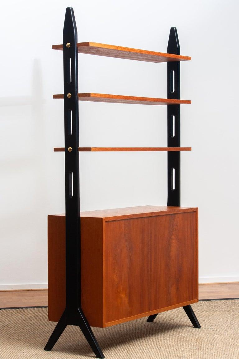 1950s, Scandinavian Shelf's / Bookcase / Room Divider in Teak, Made in Sweden 6