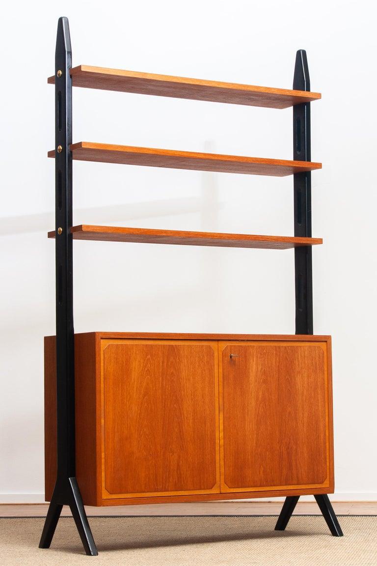 Swedish 1950s, Scandinavian Shelf's / Bookcase / Room Divider in Teak, Made in Sweden