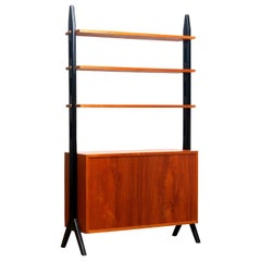 1950s, Scandinavian Shelf's / Bookcase / Room Divider in Teak, Made in Sweden