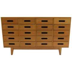 1950s School Chest of Drawers by James Leonard for Esavian Beech