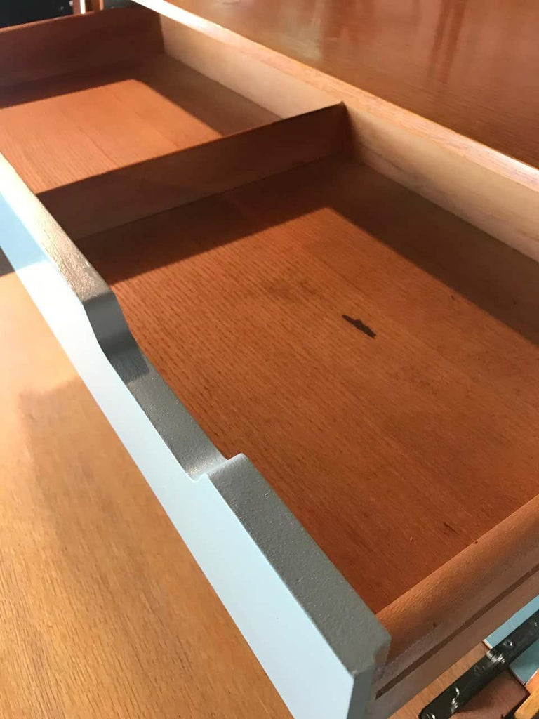 Mid Century Modern Secretary Chest by Raymond Loewy for Mengel Furniture For Sale 3