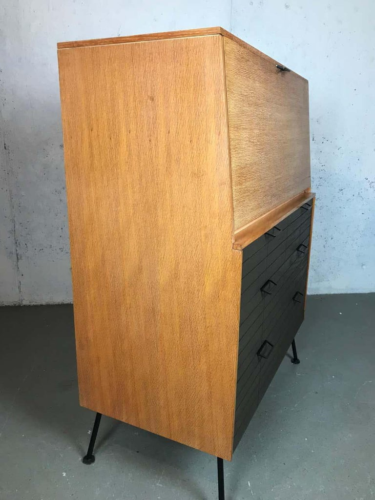 Mid Century Modern Secretary Chest by Raymond Loewy for Mengel Furniture For Sale 4