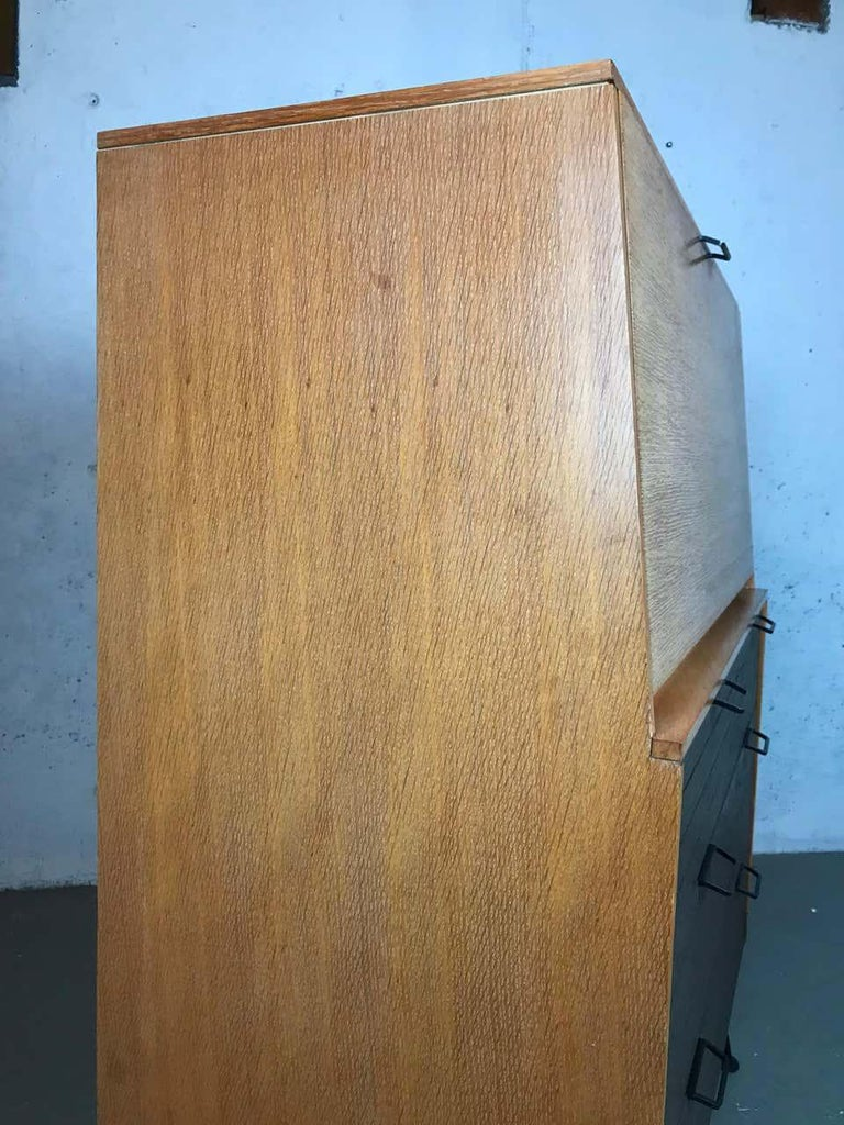 Mid Century Modern Secretary Chest by Raymond Loewy for Mengel Furniture For Sale 6