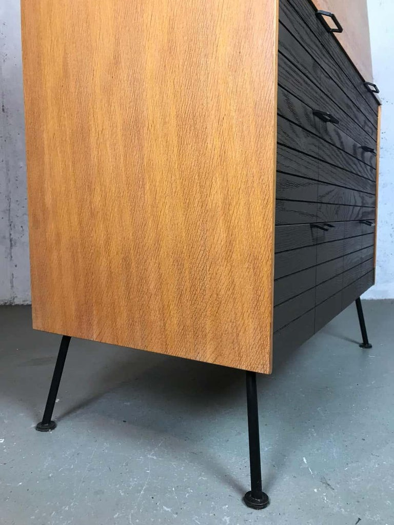 Mid Century Modern Secretary Chest by Raymond Loewy for Mengel Furniture For Sale 7