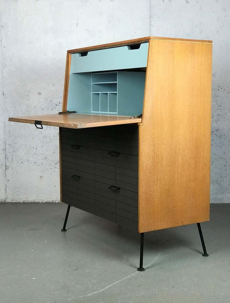 American Mid Century Modern Secretary Chest by Raymond Loewy for Mengel Furniture For Sale