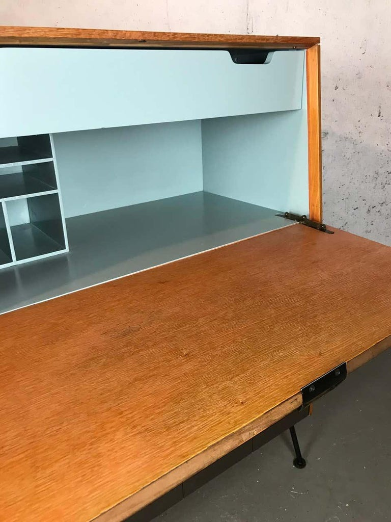 Mid-20th Century Mid Century Modern Secretary Chest by Raymond Loewy for Mengel Furniture For Sale