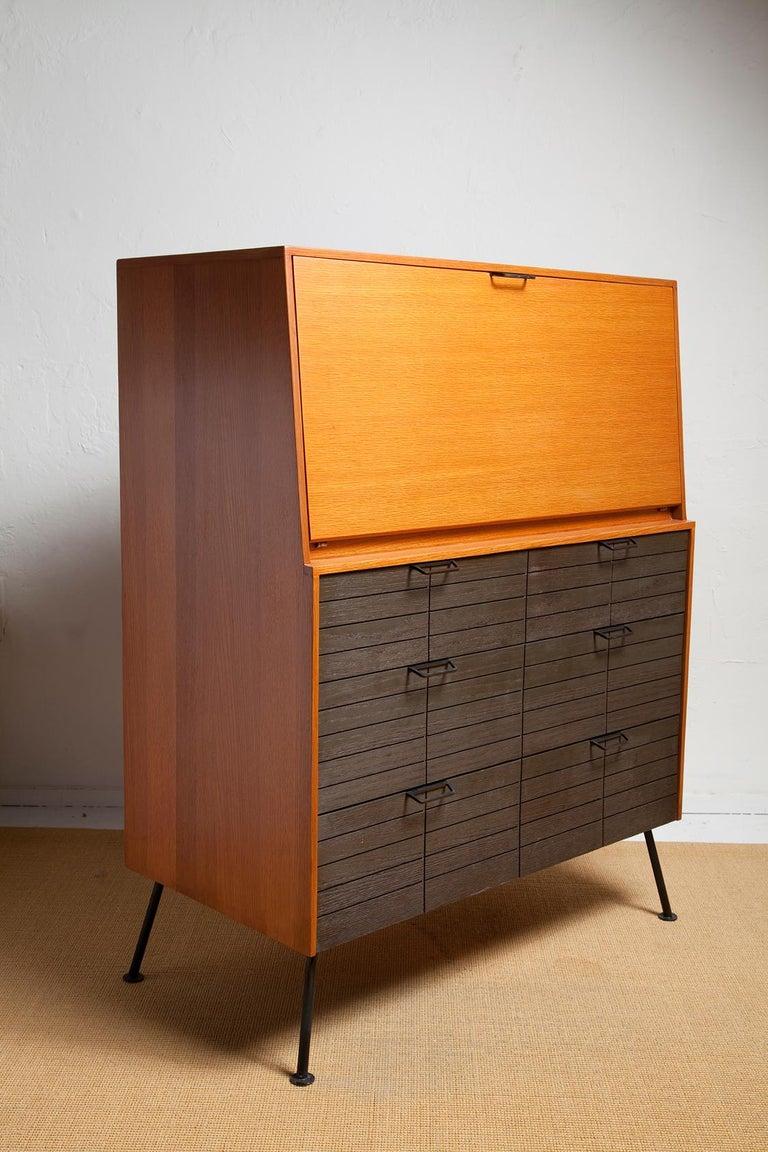 American 1950s Secretary Desk by Raymond Loewy for Mengel For Sale