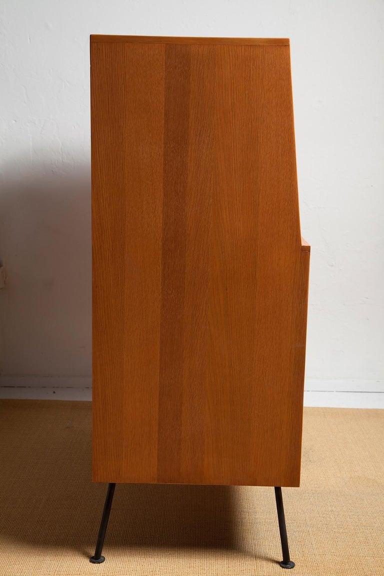 Mid-20th Century 1950s Secretary Desk by Raymond Loewy for Mengel For Sale