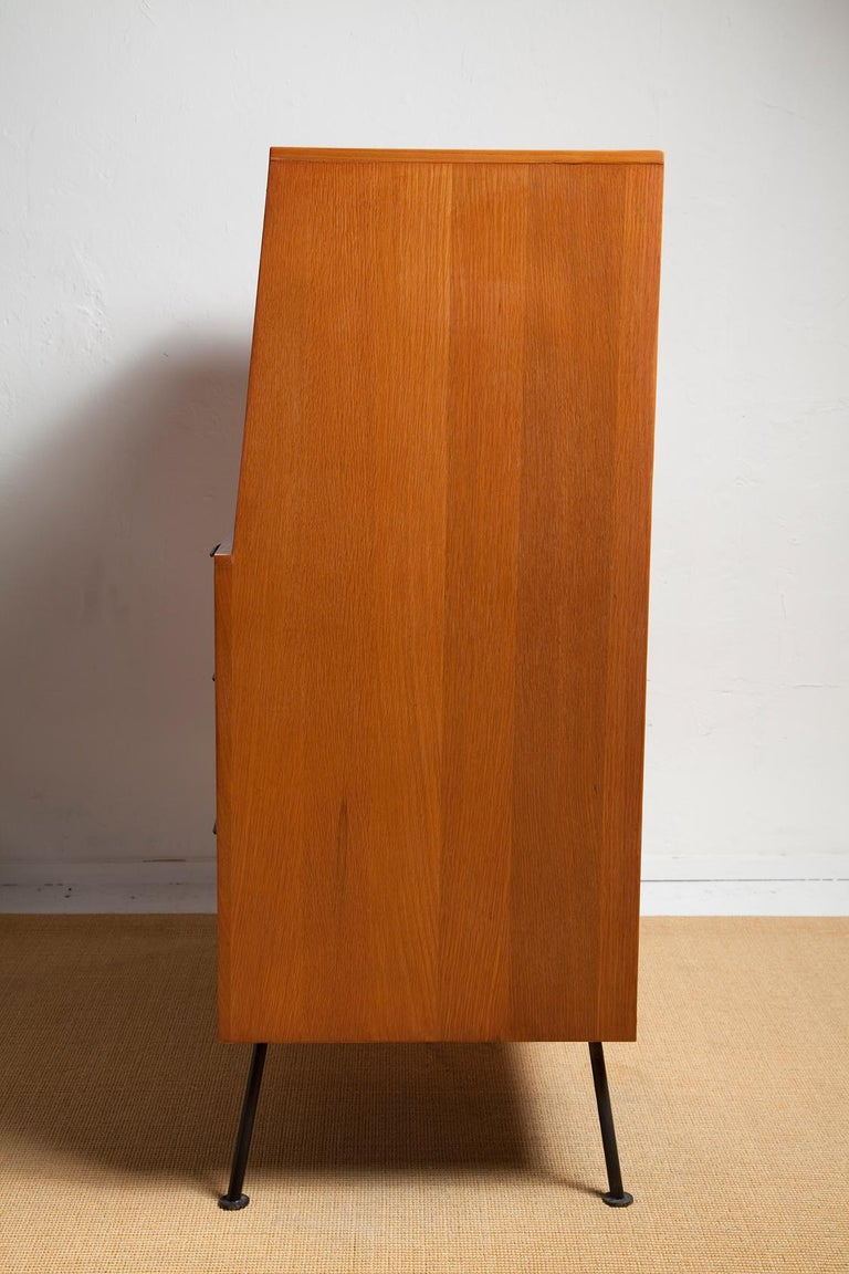 1950s Secretary Desk by Raymond Loewy for Mengel For Sale 1