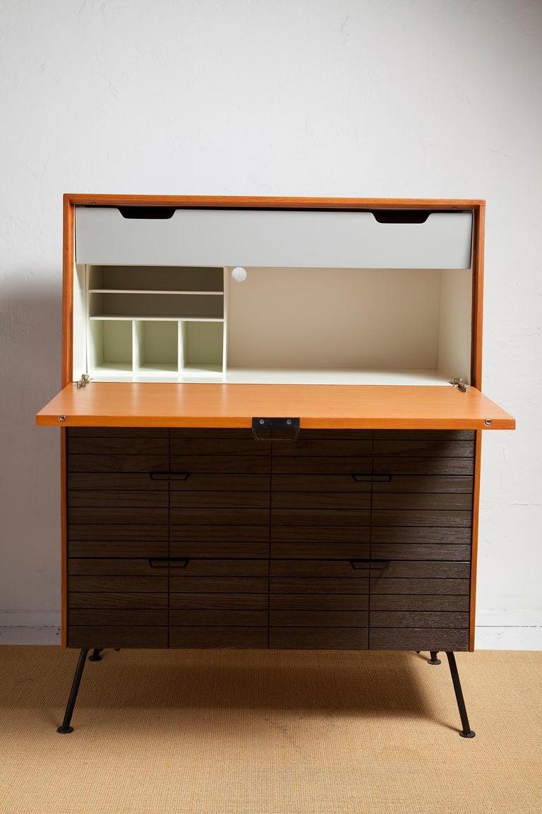1950s Secretary Desk by Raymond Loewy for Mengel For Sale 3