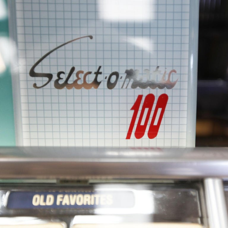 1950s Seeburg HF100R Vinyl Jukebox For Sale 5