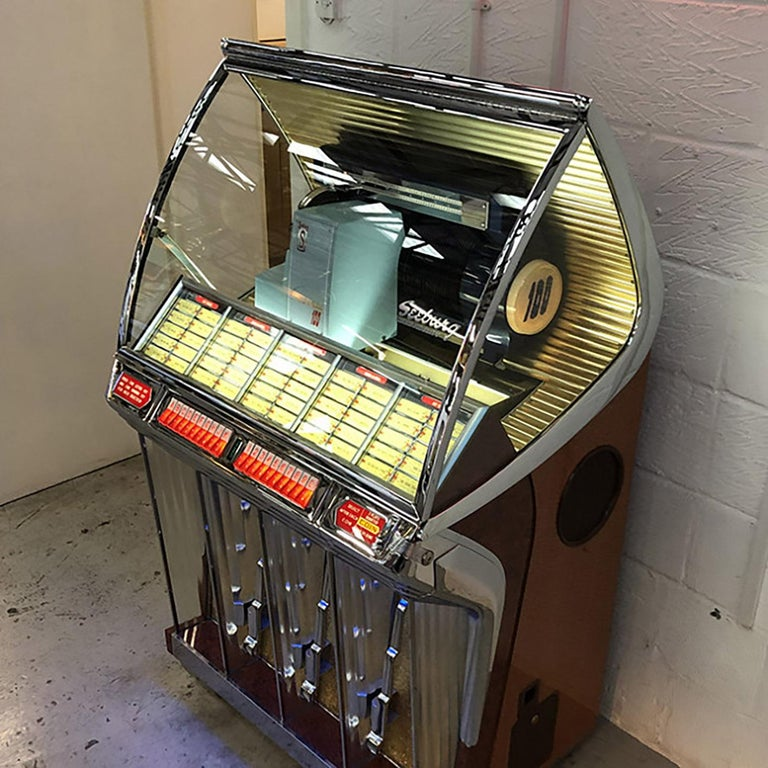 1950s Seeburg HF100R Vinyl Jukebox For Sale 1