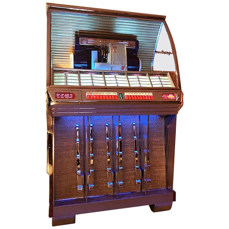 1950s Seeburg HF100R Vinyl Jukebox For Sale