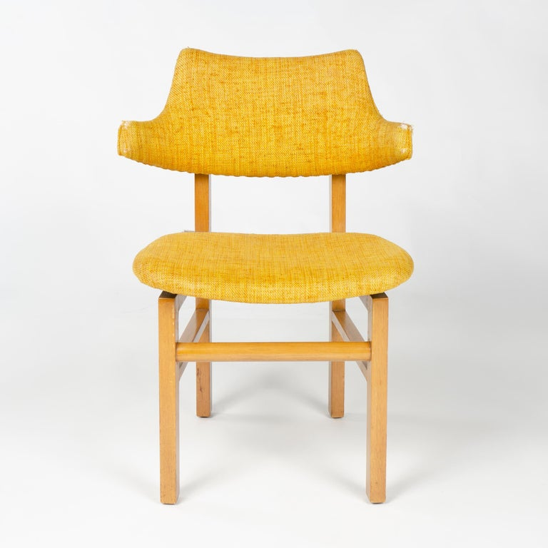 American 1950s Set of Four Model 675 Dining Chairs by Edward Wormley for Dunbar For Sale
