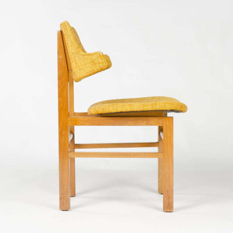Mid-20th Century 1950s Set of Four Model 675 Dining Chairs by Edward Wormley for Dunbar For Sale