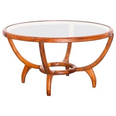 1950s Side or Coffee Table in Caviúna Wood, in the Manner of Scapinelli, Brazil