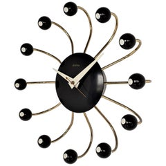 1950s Snider Spider Electric Wall Clock