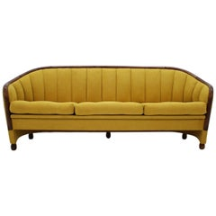 1950s Sofa in the Style of Gio Ponti, Italy