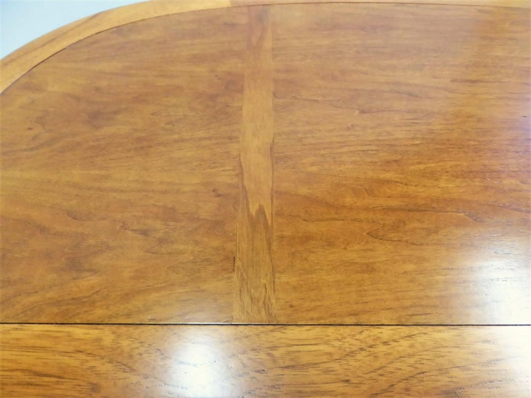 1950s Sophisticates Walnut Desk by John Lubberts & Lambert Mulder for Tomlinson For Sale 5